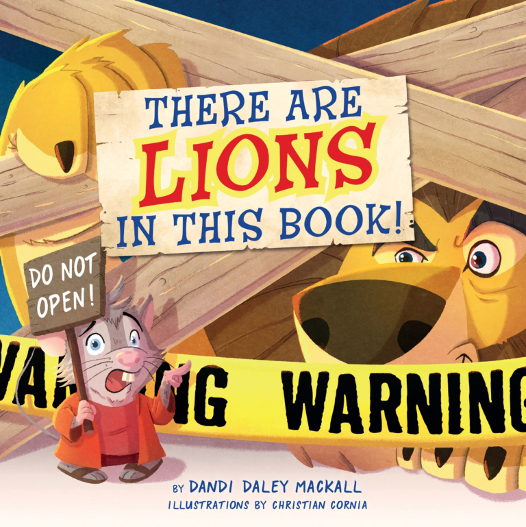 There Are Lions in This Book!
