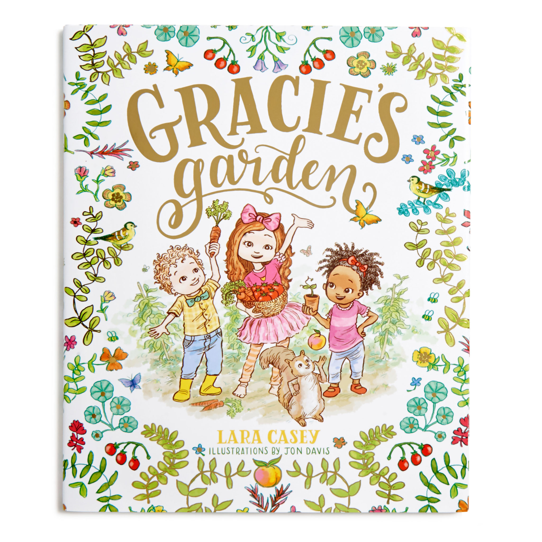 "Bestselling author, podcaster and business owner Lara Casey launches first children's book, ""Gracie's Garden,"" with B&H"