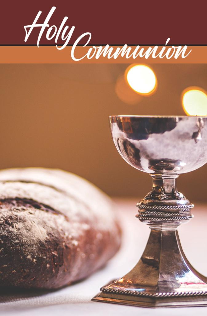 Holy Communion  Bulletin (Pkg 100) Communion