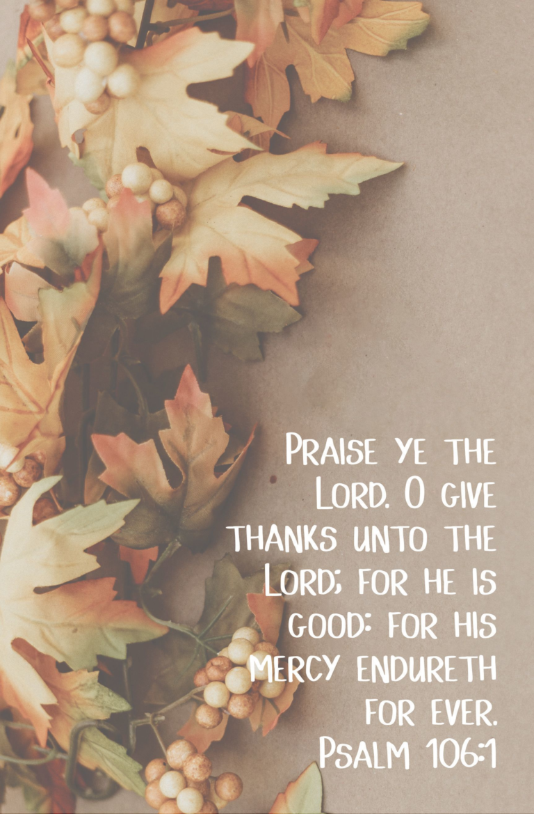 Praise Ye The Lord  Bulletin (Pkg 100) Thanksgiving