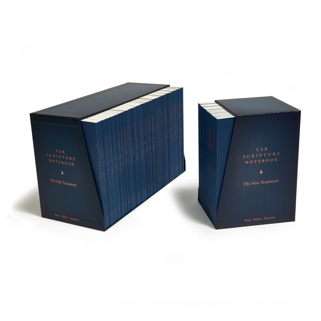 CSB Scripture Notebook, Old and New Testament Sets