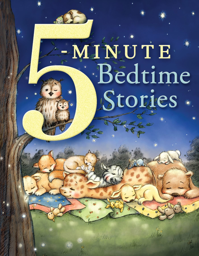 5-Minute Bedtime Stories, eBook