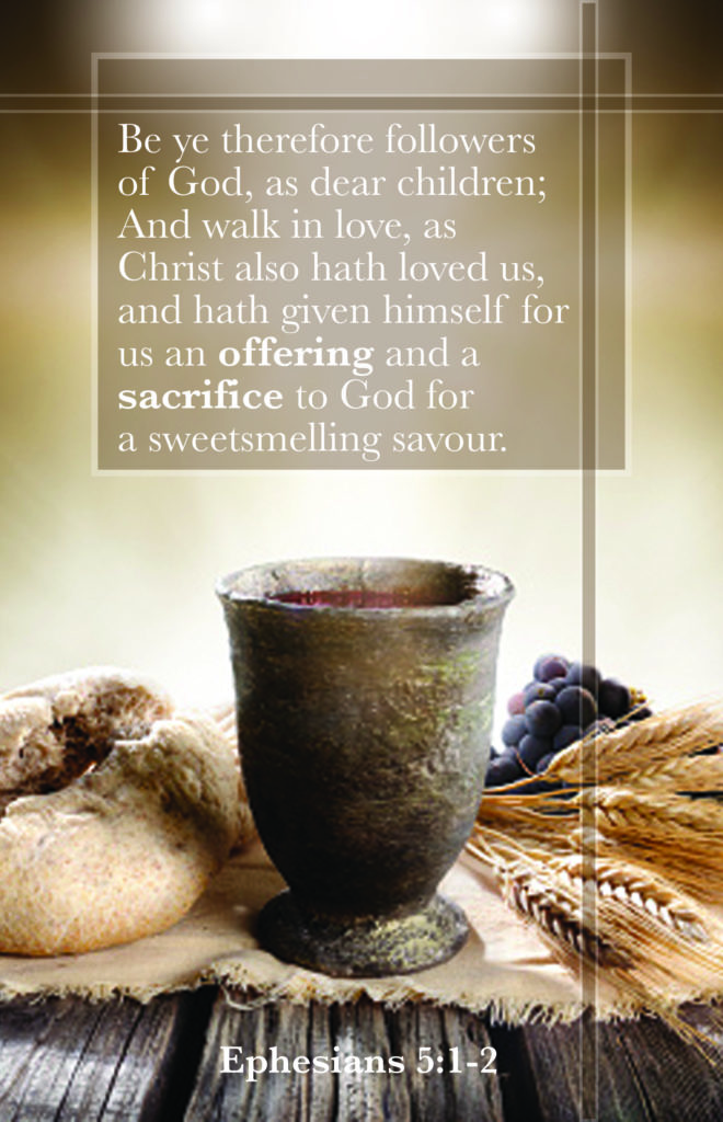 Be Ye Therefore  Bulletin (Pkg 100) Communion