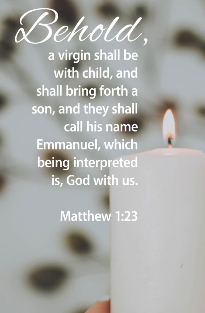 Advent God With Us  Bulletin (Pkg 100) Advent