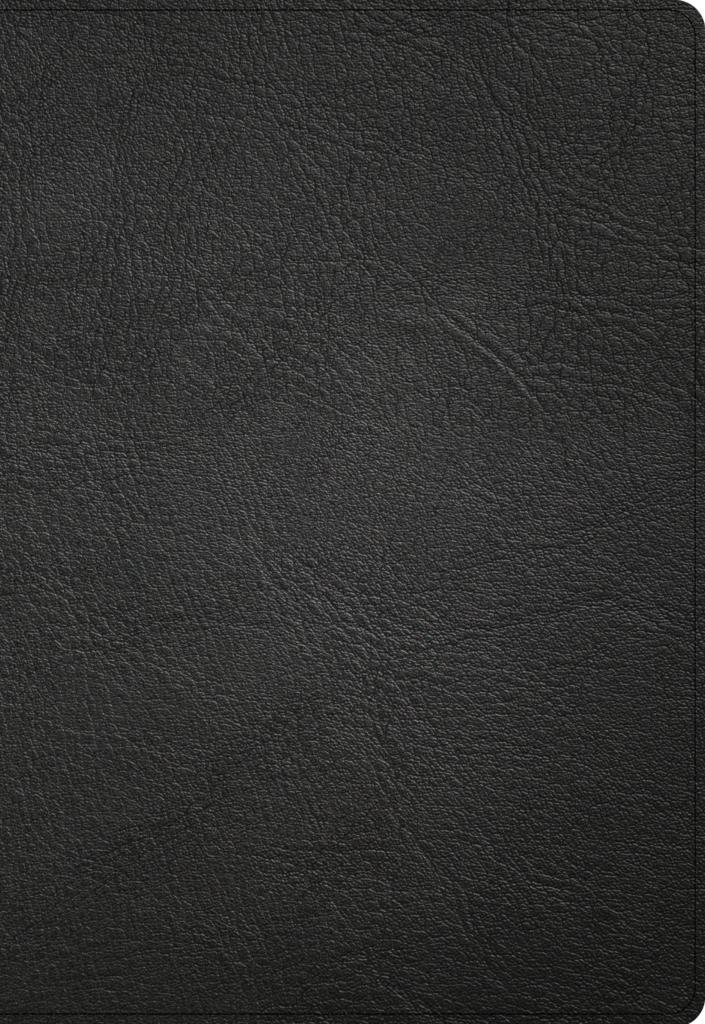 NASB Super Giant Print Reference Bible, Black Genuine Leather