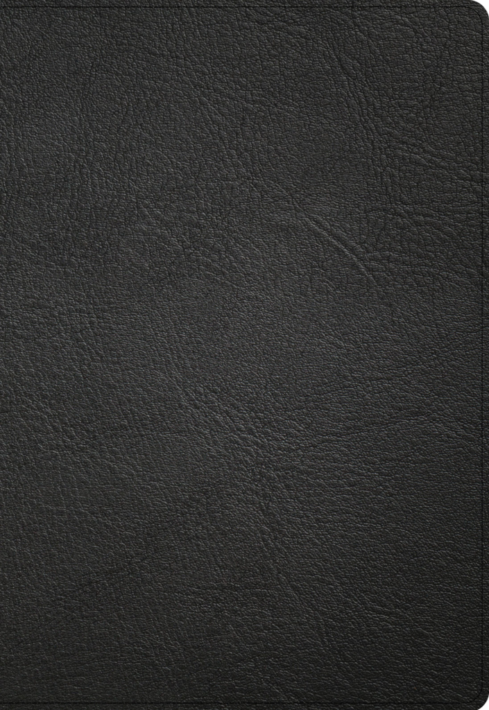 NASB Super Giant Print Reference Bible, Black Genuine Leather, Indexed
