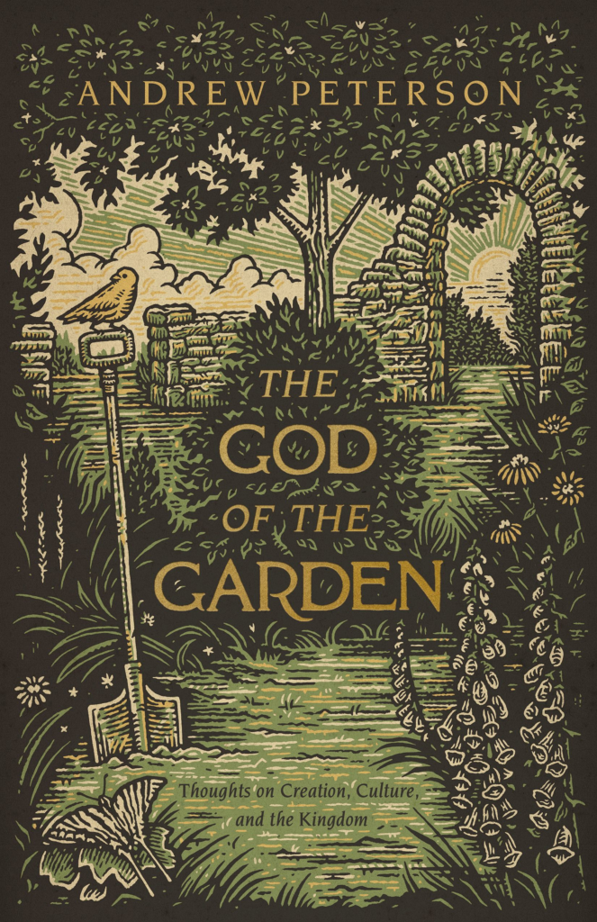 "Award-winning author and songwriter Andrew Peterson to release second adult trade book ""The God of the Garden"" this fall"