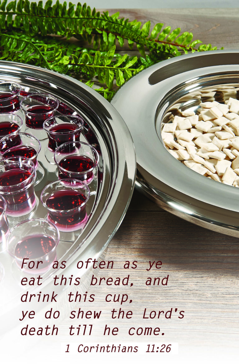 Let Us Break Bread  Bulletin (Pkg 100) Communion