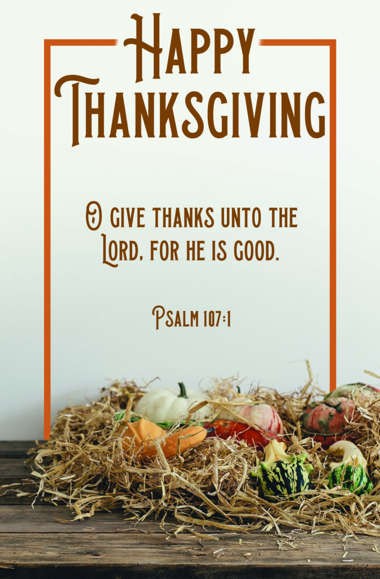 Happy Thanksgiving  Bulletin (Pkg 100) Thanksgiving